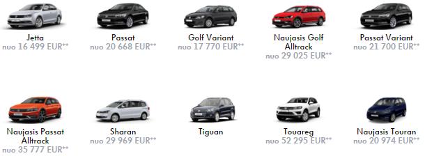 vw kainos 2016-04