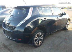 Nissan Leaf keliones kaina