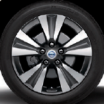 Nissan Leaf 2015 SL wheel