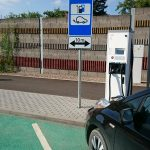 elektromobilio parkavimas kaune