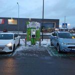 Lidl Įkrovimo stotelės galia ir įkrovimo greitis Vakar su Hyundai Ioniq electric lankiausi Kauno…